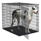 Клетка для собак Midwest Solutions, размер 137х94х114см., черный
