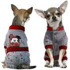 Комбинезон для собак Triol Minnie-2 XS, размер 20см., серый