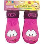 Носки для собак Барбоски 155003, размер 3, фиолетовые с принтом
