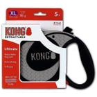 Поводок-рулетка для собак Kong ULTIMATE XL, серый
