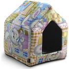Дом для собак и кошек Гамма Хижина, размер 40х34х40см.