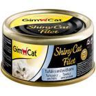 Корм для кошек GimCat ShinyCat Filet, 85 г, Тунц с анчоусами