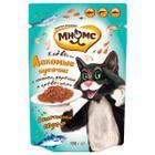 Корм для кошек Мнямс, 100 г, лосось, форель и креветки