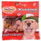 Лакомство для собак Мнямс Hearts & Bears, говядина и ягненок