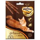 Лакомство для кошек Мнямс Деликатес, 12 г, лосось с манго