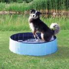 Бассейн для собак Trixie Dog Pool, размер 120х30см., голубой / синий