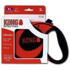 Поводок-рулетка для собак Kong ULTIMATE XL, красный