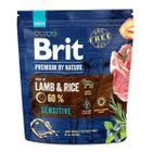 Корм для собак Brit Premium By Nature Sensitive, 1 кг, ягненок с рисом