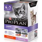Промонабор для котят Pro Plan Nutrisavour Junior, 425 г, индейка, говядина