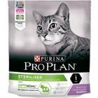 Корм для кошек Pro Plan Sterilised, 400 г, курица и индейка