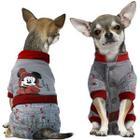 Комбинезон для собак Triol Minnie-2 S, размер 25см., серый