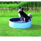 Бассейн для собак Trixie, размер 80х20см., голубой/синий