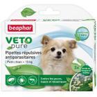 Капли от блох и клещей для собак мелких пород Beaphar Veto Pure, 3 пип.