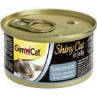 Корм для кошек GimCat  ShinyCat, 85 г, тунц с креветками