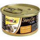 Корм для кошек GimCat ShinyCat, 85 г, тунц с цыпленком