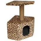 Игровой комплекс для кошек Гамма Щг-18000, размер 31х31х58см., цвета в ассортименте