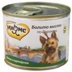 Корм для собак Мнямс, 200 г, дичь с картофелем