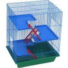 Клетка для грызунов Зоомарк Гризли-4, размер 41х30х52см.