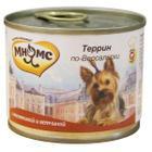 Корм для собак Мнямс, 200 г, телятина с ветчиной